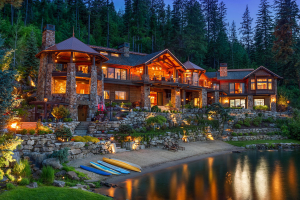Multi-level Residential Waterfront, Craftsman - Coeur d'Alene, ID
