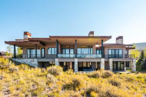 Modern Mountain Home With Park City Ski Views