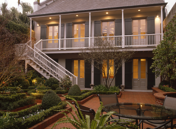 French quarter mansion for Luxury french real estate