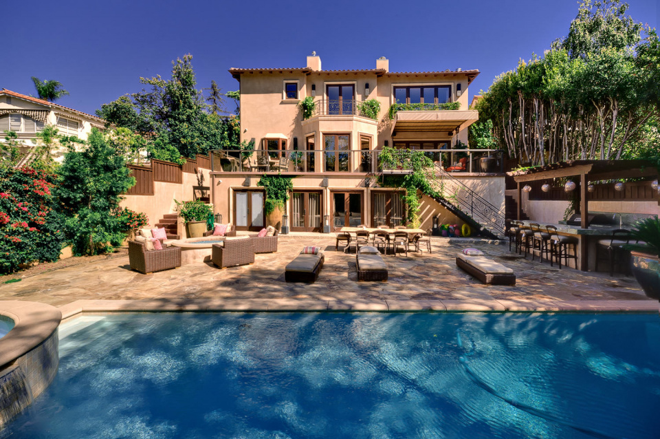 Celebrity villa for Villas california