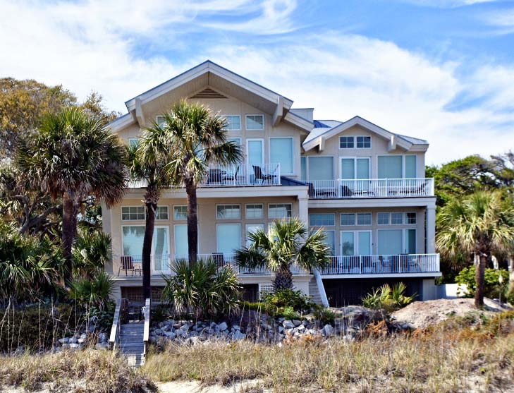 Hot Tin Roof 7 Bedroom Luxury Oceanfront Home Hilton Head Island South Ca