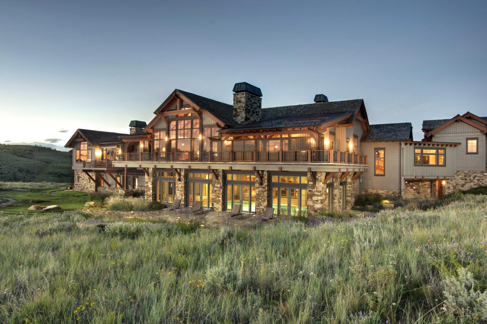 mountain modern ranch