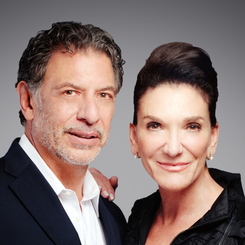 Rhonda Abony and Perry Steinberg