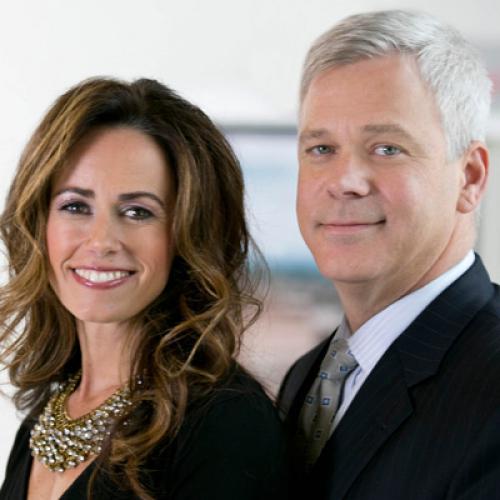 Heidi Ziomek and Marty Walsh