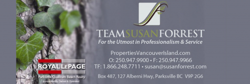 Team Susan Forrest of Royal LePage Parksville Qualicum Beach Realty